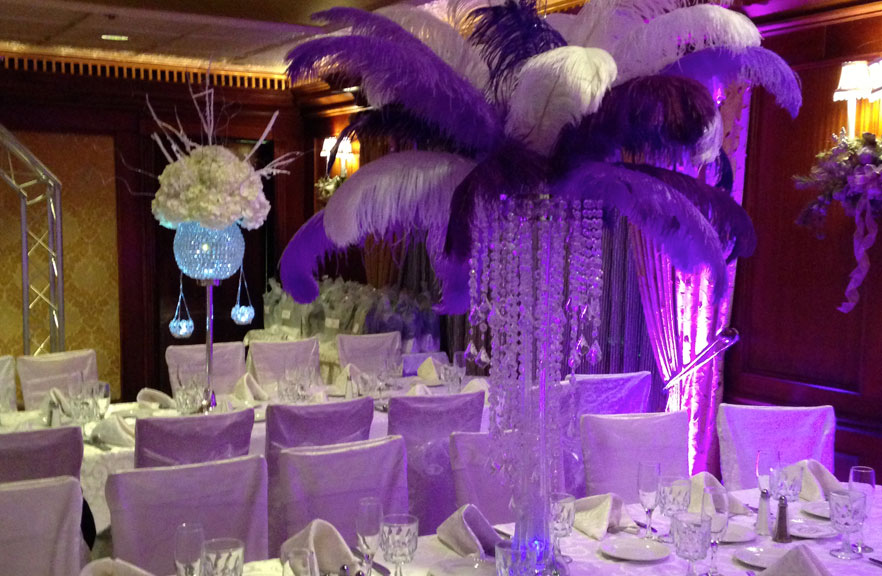 Gallery - Centerpieces, Flowers, Sweet 16, Bar Mitzvah, Bat Mitzvah