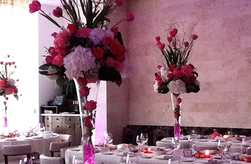 Gallery centerpieces flowers sweet bar mitzvah
